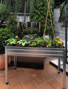 Mesa Cultivo Galvanizada