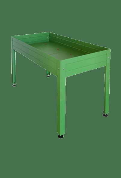Mesa Cultivo Lacada Verde