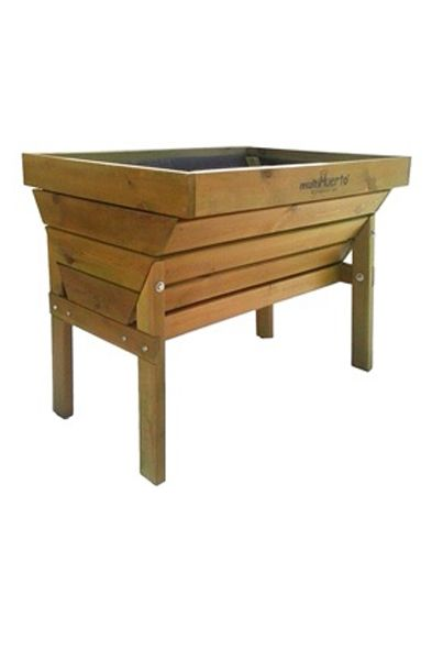 Mesa de cultivo de madera Paula
