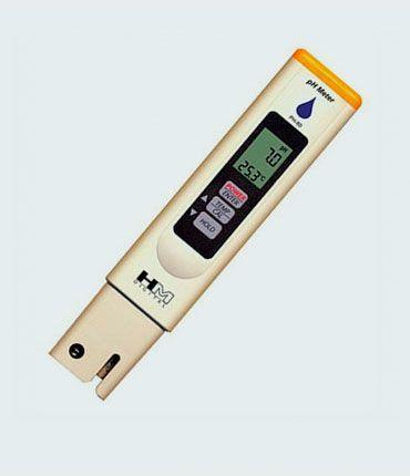 Medidor de pH y temperatura