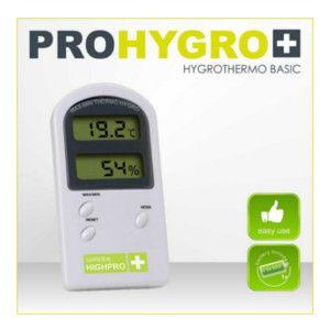 Termohigrómetro Garden Highpro Basic