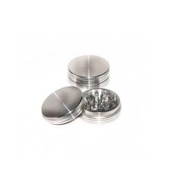 Grinder Plateado de Aluminio Magnético CNC 40mm