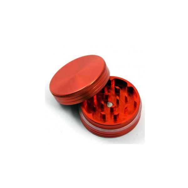 Grinder Rojo de Aluminio Magnético CNC 55mm