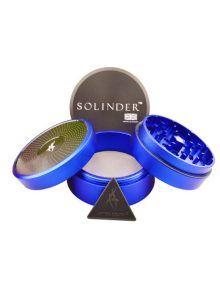 Grinder Solinder Azul con polinizador