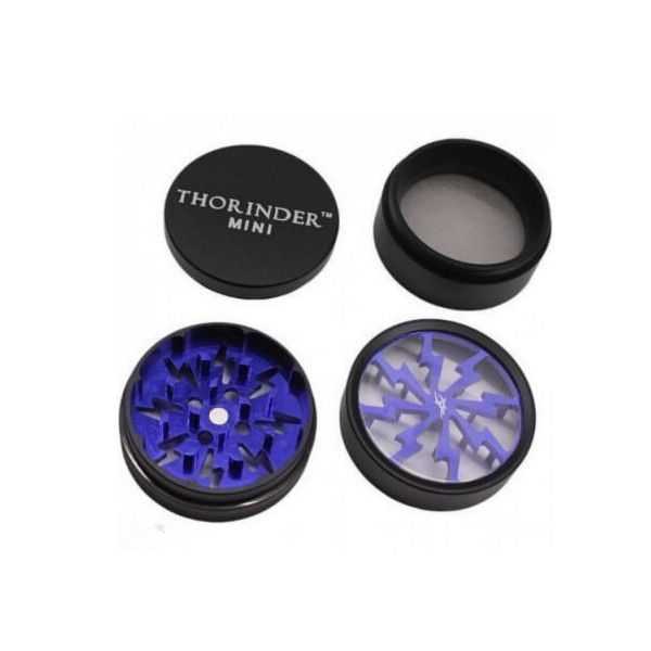 Grinder Thorinder Mini Azul con polinizador