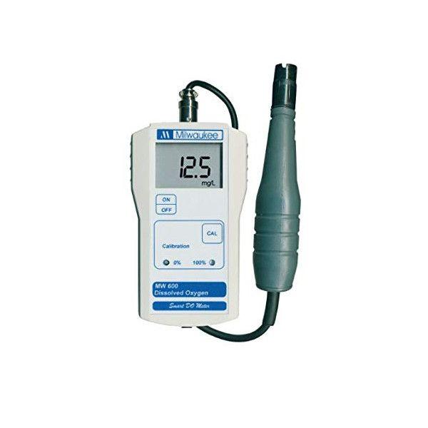 Medidor de oxígeno disuelto Milwaukee MW600